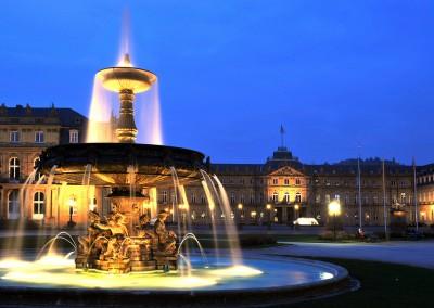 Stoccarda, Friburgo e le grandi residenze di Germania