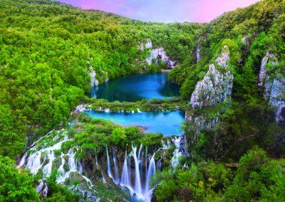 Laghi di Plitvice e la splendida costa della Croazia