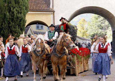 Festa dell'Uva e trenino rosso del Bernina